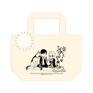ポンポン付きランチトートバッグ【バニラ】(池森あゆ先生)