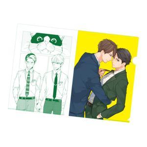 春田先生「ひもの、時々、社内恋愛」イラストクリアファイル
