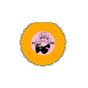 橋本あおい先生 イラスト描き下ろし マカロン型ふせんユノver
