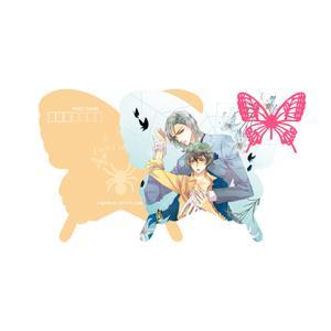ラブセレ樋口美沙緒 ダイカットポストカード (橙「愛の在り処をさがせ!」)