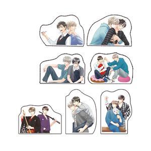 夏目イサク先生ダイカットポストカード(全7種セット)