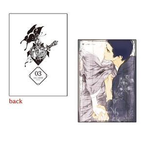 A5判高級紙イラストカード/003〈#媚薬展〉