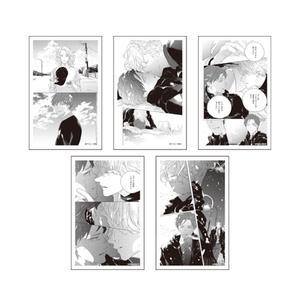 トレーディング『ロマンスには程遠い』名シーンクリアカード:全5種〈アマミヤオンリーイベント〉
