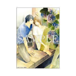 A5判高級紙イラストカード/天涯行き〈凪良ゆう先生「美しい彼」TVドラマ化記念展〉