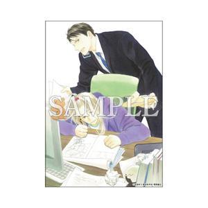 A5判高級紙イラストカード/求愛前夜 〈凪良ゆう先生「美しい彼」TVドラマ化記念展〉