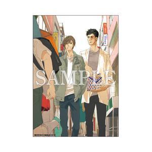 A5判高級紙イラストカード/ここで待ってる〈凪良ゆう先生「美しい彼」TVドラマ化記念展〉