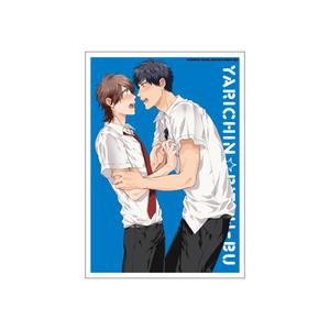 A5アクリルプレート/3巻表紙絵 〈ヤリチン☆ビッチ部4巻発売記念展〉