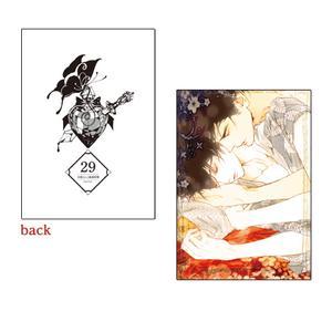 A5判高級紙イラストカード/029〈#媚薬展〉