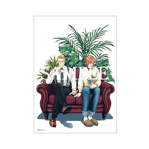 【数量限定・直筆サイン入】吾妻香夜「 親愛なるジーンへ 1」/A4判アクリルプレート