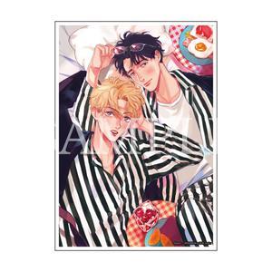 【数量限定・直筆サイン入】ダヨオ「YOUNG GOOD BOYFRIEND」/A4判アクリルプレート
