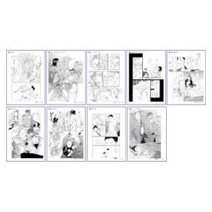 R18複製原稿9枚セット/A〈Canna 10th イベント〉