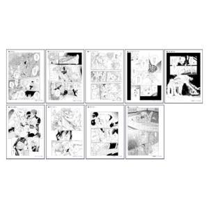 R18複製原稿9枚セット/B〈Canna 10th イベント〉
