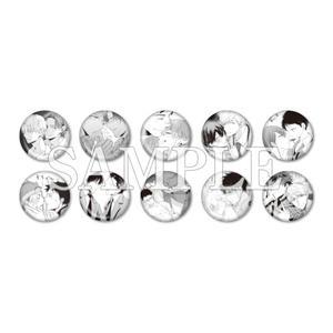 トレーディング缶バッジガチャ:全10種〈Fig創刊50号記念展〉