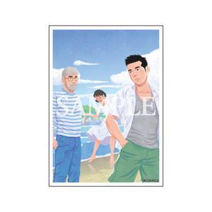 【数量限定・直筆サイン入】田亀源五郎「僕らの色彩」/A4判アクリルプレート