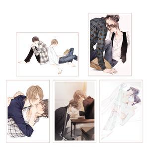 トレーディングクリアカード単品/全5種〈凪良ゆう先生「美しい彼」TVドラマ化記念展〉