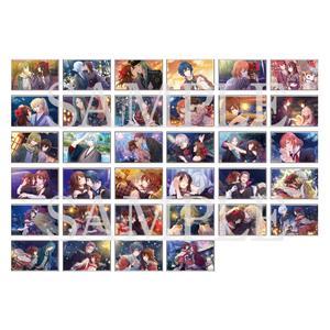トレーディングクリアカード/全34種〈好男子たちの軌跡展〉