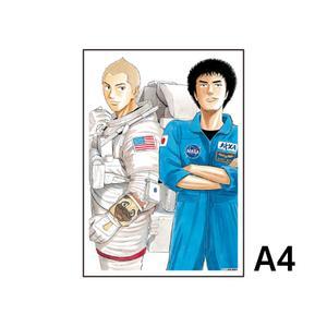 A4アクリルプレート/A(17巻表紙)〈宇宙兄弟40巻発売記念展〉