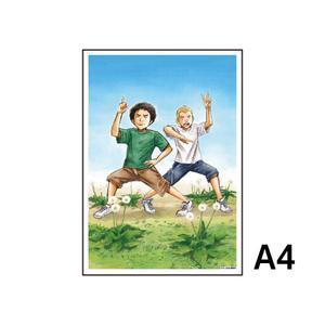 A4アクリルプレート/D(#0)〈宇宙兄弟40巻発売記念展〉