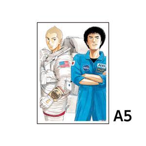 A5アクリルプレート/A(17巻表紙)〈宇宙兄弟40巻発売記念展〉