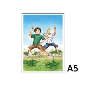 A5アクリルプレート/D(#0)〈宇宙兄弟40巻発売記念展〉
