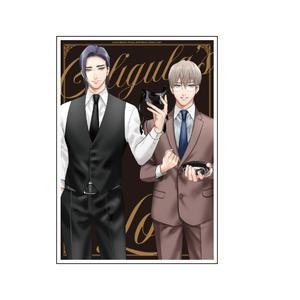 【直筆サイン入】アクリルプレート〈『カリギュラの恋』発売記念イベント〉