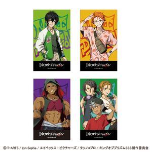 イラストカード4枚セット <タイガ・カケル・アレク・オバレ>【ボイス特典4種】