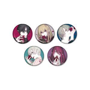 缶バッジ5種セット(石据カチル先生/Rosen Blood ~背徳の冥館~)