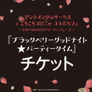 <4/17-1>『ブラックベリーグッドナイト★パーティータイム』チケット