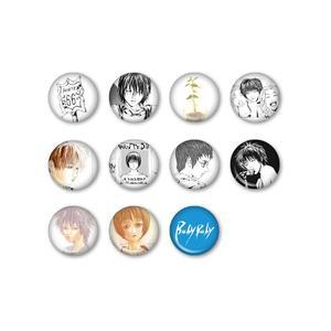 缶バッジ3個セット:全11種〈『Baby Baby』発売記念SHOP at 渋谷虜〉