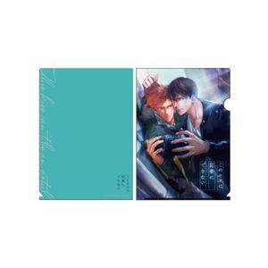 A4クリアファイル:ブルー〈西本ろう先生「このキスは記事にできない」〉