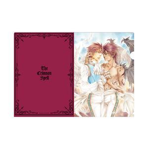 クリアファイル/ピンク〈『クリムゾン・スペル』完結記念展〉