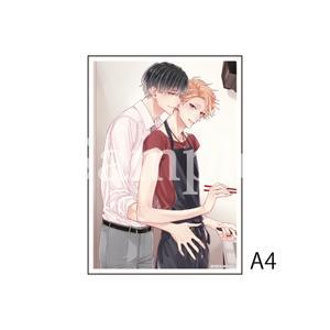 A4アクリルプレート/A(繋いだ恋の叶え方 1話扉絵)〈「結んだ恋の伝え方」発売記念展〉