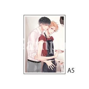 A5アクリルプレート/A(繋いだ恋の叶え方 1話扉絵)〈「結んだ恋の伝え方」発売記念展〉