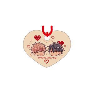 赤い糸の絵馬ストラップ/裕樹・繋司ver〈「結んだ恋の伝え方」発売記念展〉