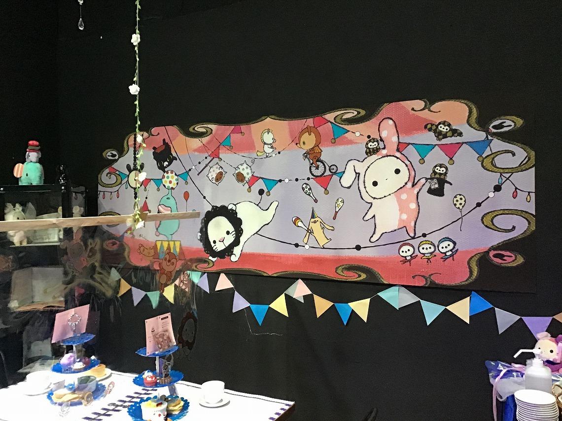 10周年アニバーサリーコラボカフェ「センチメンタルサーカス~月色子鹿と真夜中サーカス~ 夢色迷宮の一夜」