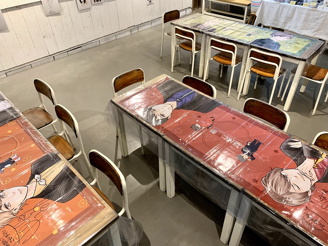 GUSHレーベル山本小鉄子先生 複製原画展&コラボカフェ in OSAKA