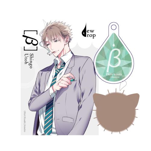 子猫ポンポンセット<緑・鵜藤>