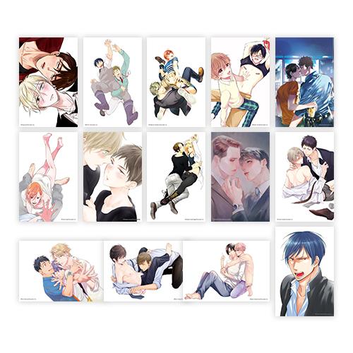 イラストカード全種セット(14枚)