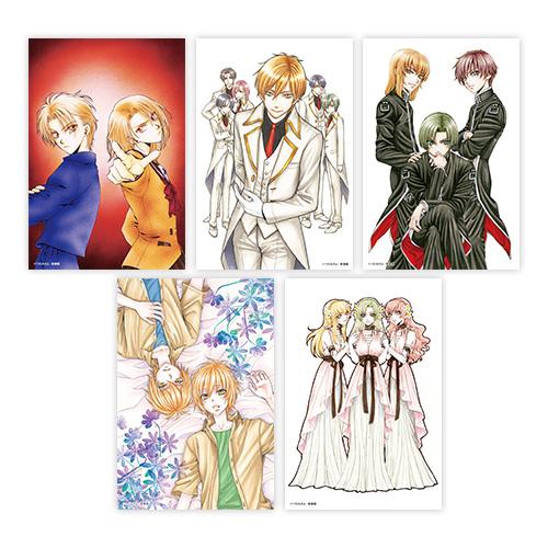 つだみきよ原画展 イラストカード(全5種セット)