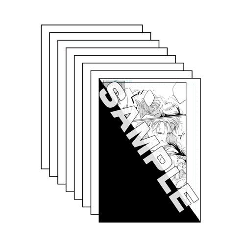 モノクロマンガ複製原画セット(A) <drap 20th History>