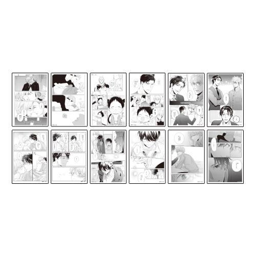 トレーディングクリアカード(全12種)  <GUSH de Noël in OSAKA ONLY>