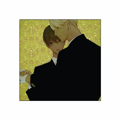 キャンバスアート(金) <リーストン・ティールーム>