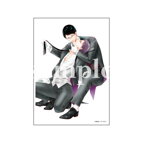 【数量限定・直筆サイン入】神田猫「BUTLER-バトラー-」/A4判アクリルプレート