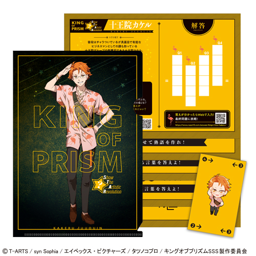 謎解きファイル「KING OF PRISM -Show the Artistic Revolution-」十王院カケル