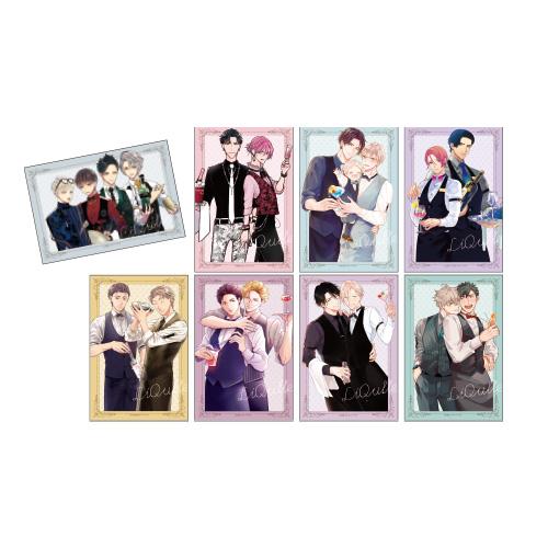 イラストカード(8種セット) <barリキューレ>