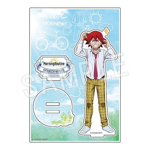 【弱虫ペダルGLORY LINE】アクリルフィギュアスタンド MorningRoutine ver. 鳴子 章吉